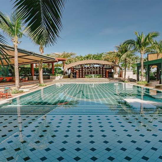 Swimming pools  a-one the royal cruise pattaya