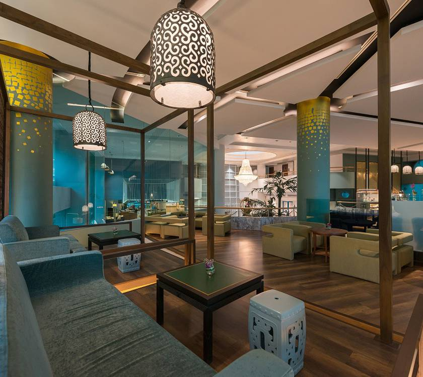 Club lounge  a-one the royal cruise pattaya